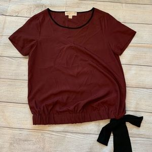 MICHAEL Michael Kors Tops - Small Michael Kors Burgundy Top